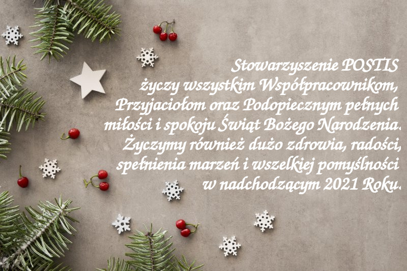 Życzenia na Święta i Nowy Rok 2021